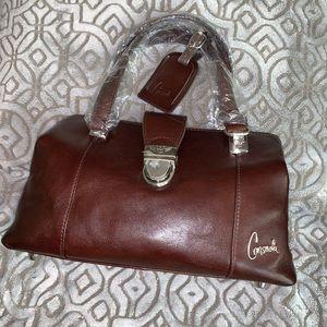 Consuela Tawny Classic Signature Handbag - small